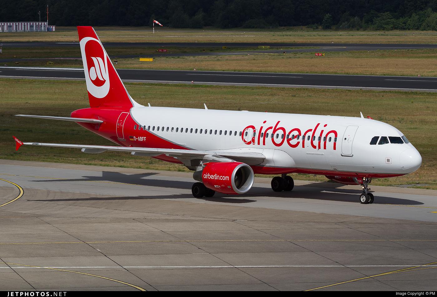 D-ABFF - Airbus A320-214 - Air Berlin