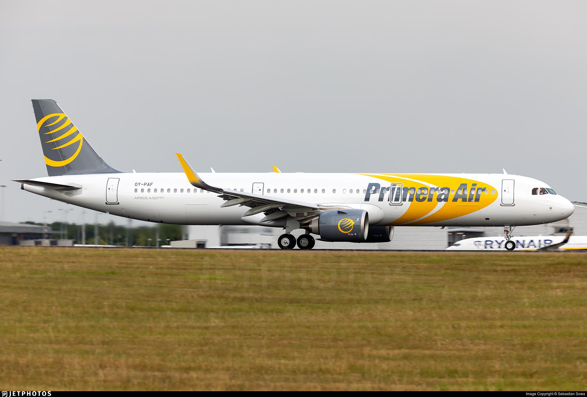 OY-PAF - Airbus A321-251N - Primera Air Scandinavia