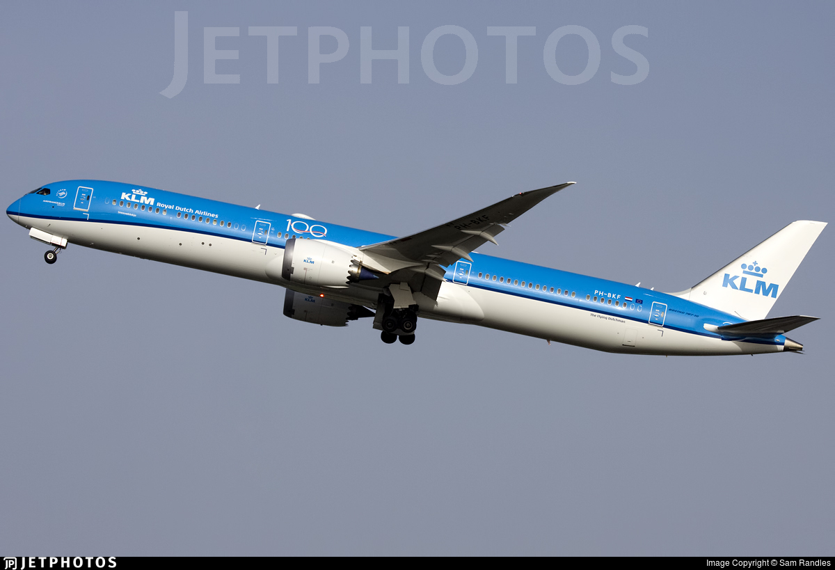 PH-BKF - Boeing 787-10 Dreamliner - KLM Royal Dutch Airlines
