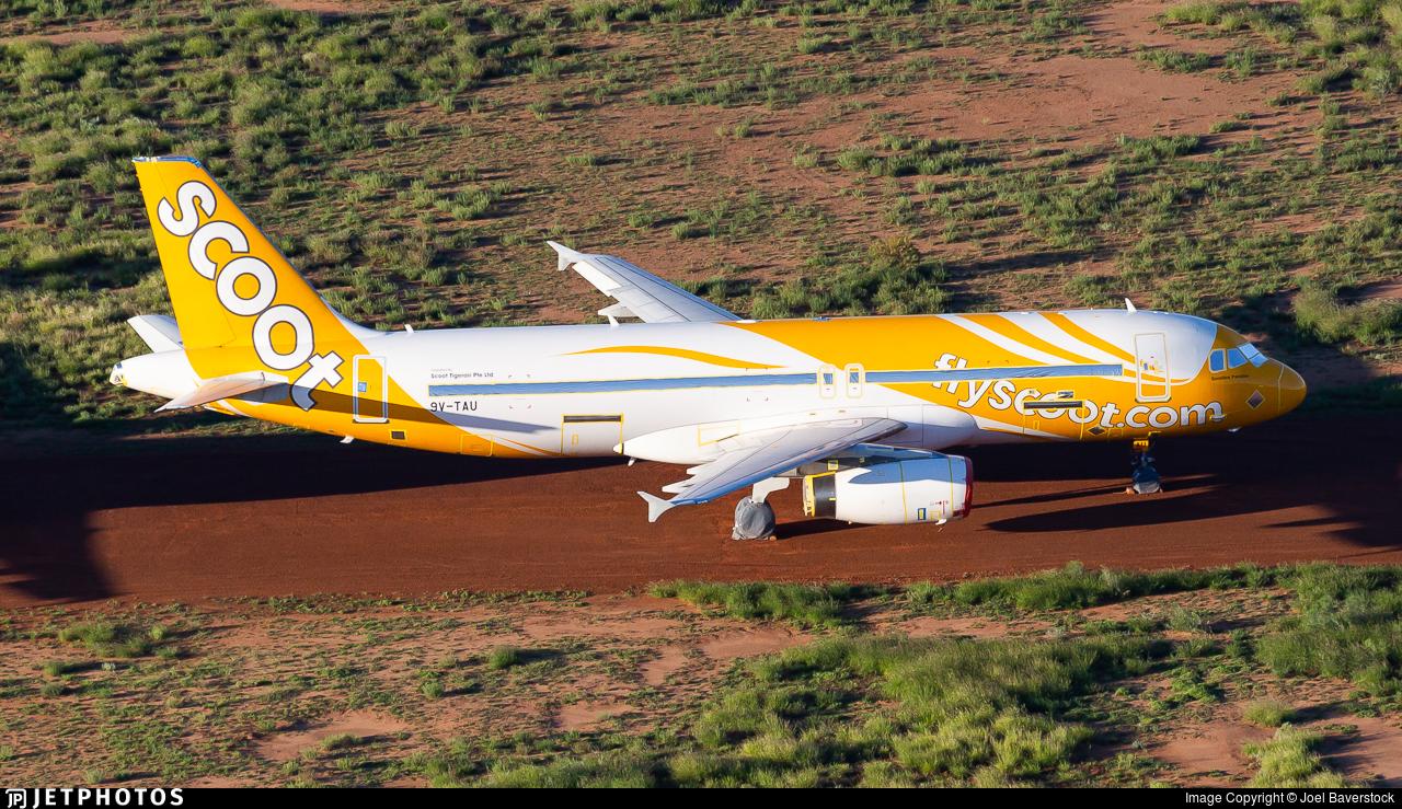 9V-TAU - Airbus A320-232 - Scoot