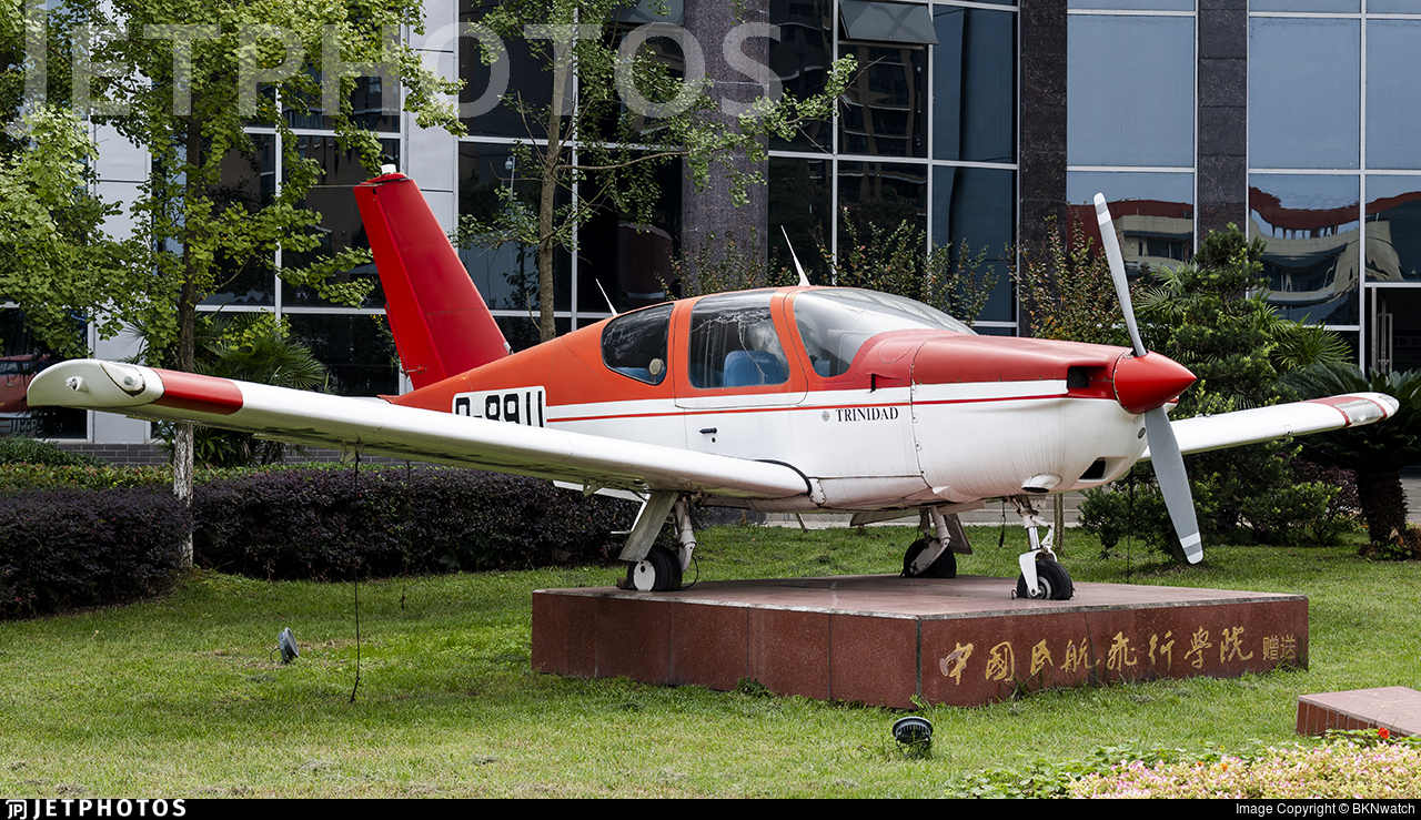 B-8911 - Socata TB-20 Trinidad - Civil Aviation Flight University of China