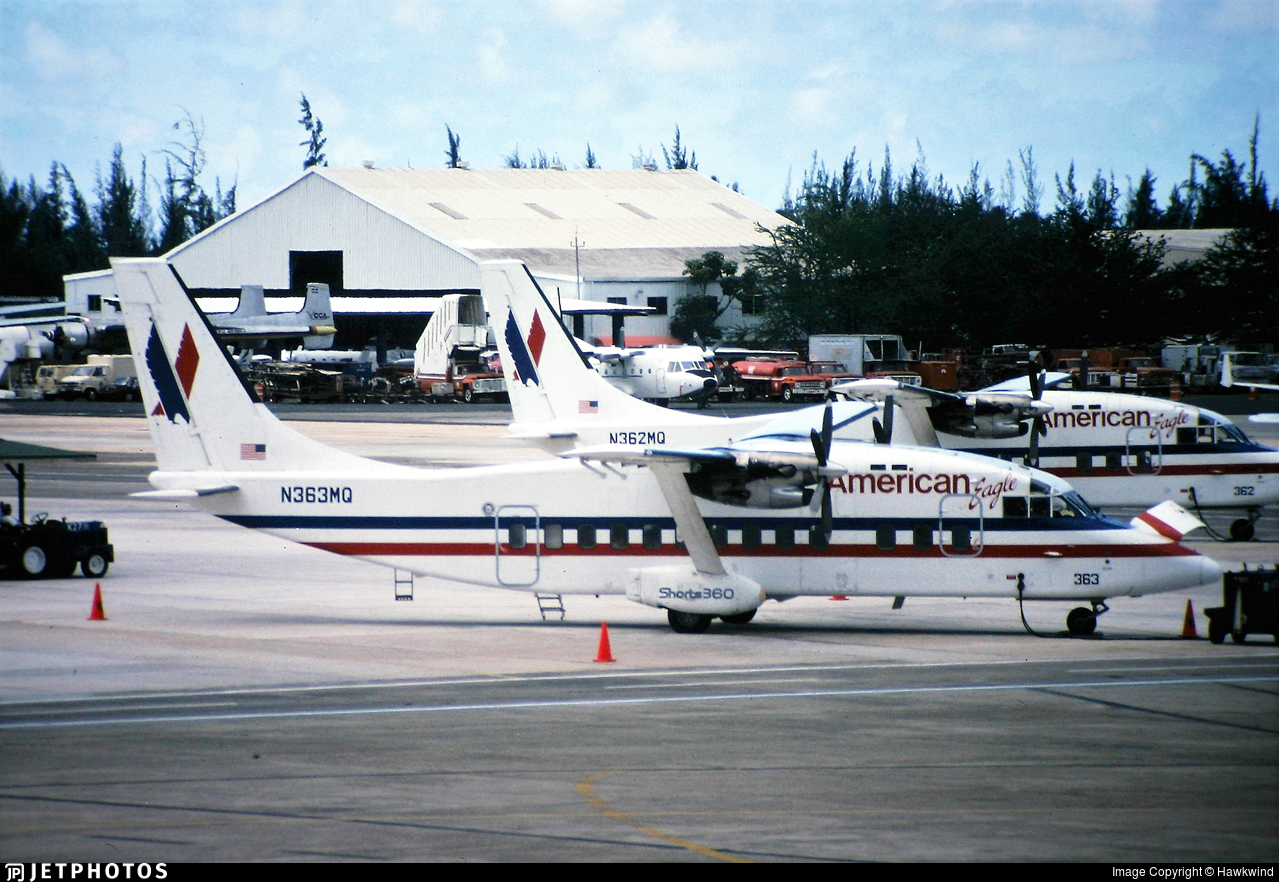 N363MQ - Short 360-100 - American Eagle (Executive Airlines)