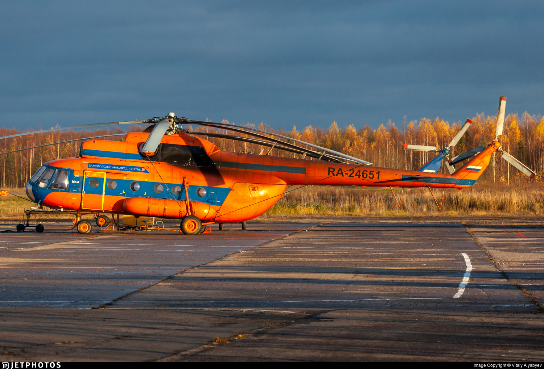 RA-24651 - Mil Mi-8T Hip - Vologda Air