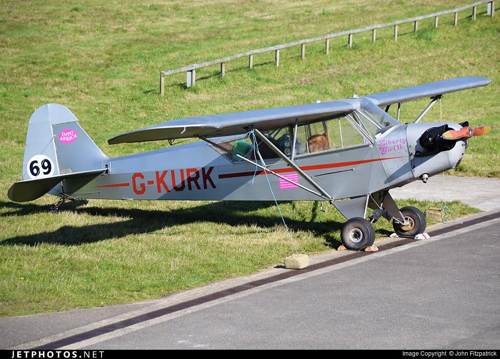 G-KURK - Piper J-3C-65 Cub - Private