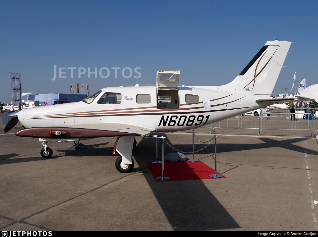 N60891 - Piper PA-46R-350T Matrix - Private