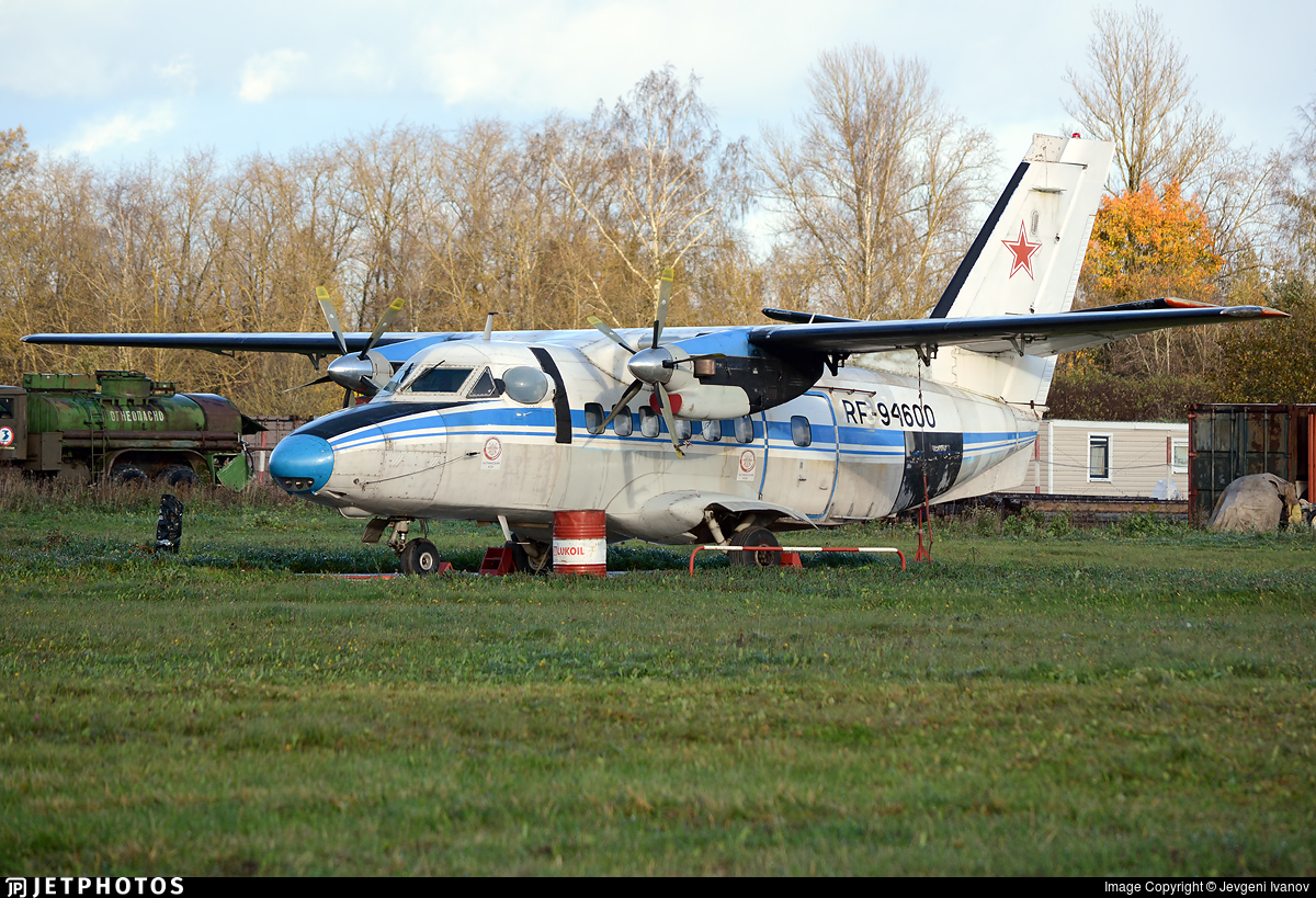 RF-94600 - Let L-410UVP-E3 Turbolet - Russia - Voluntary Society for Assistance to the Army, Air Force and Navy (DOSAAF)