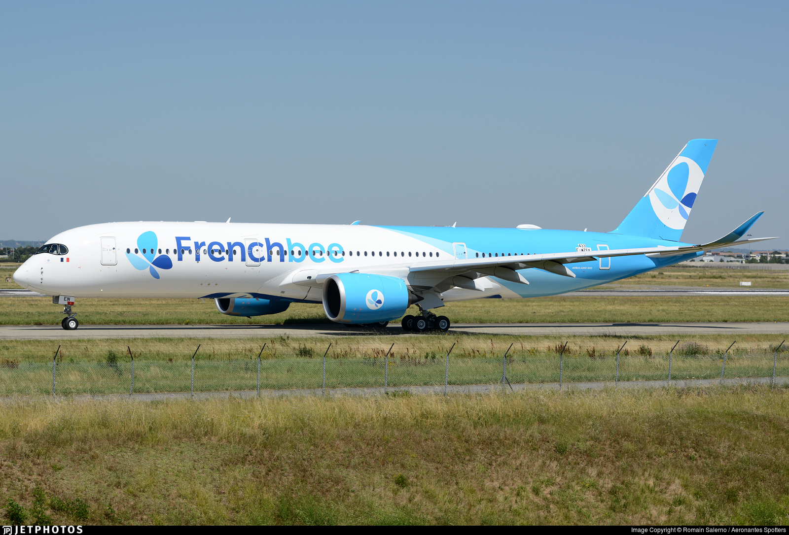 F-WZFK - Airbus A350-941 - French Bee