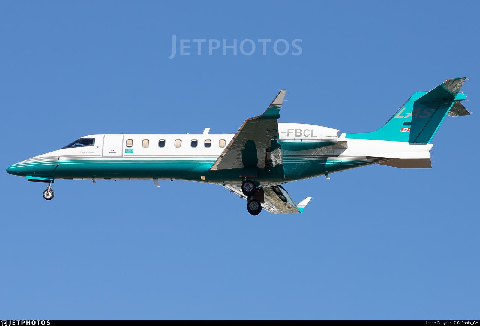 C-FBCL - Bombardier Learjet 45 - London Air Services