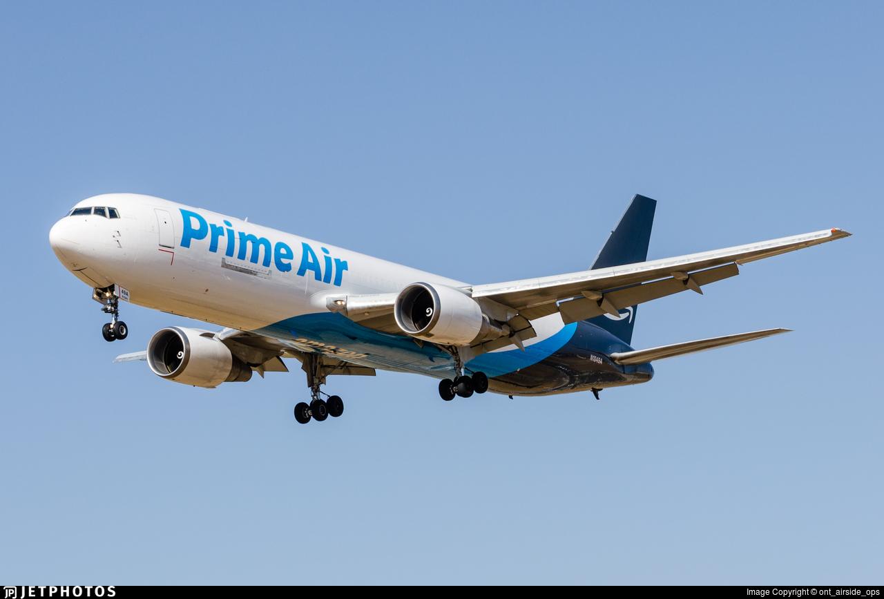 N1049A - Boeing 767-36N(ER)(BDSF) - Amazon Prime Air