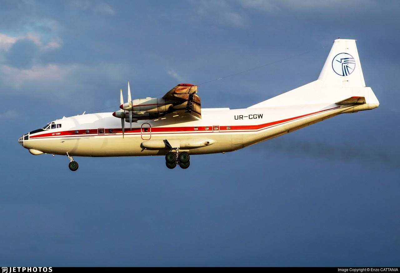 UR-CGW - Antonov An-12B - Ukraine Air Alliance (UAA)