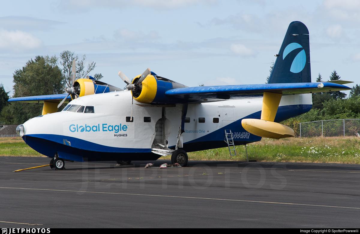 N44HQ - Grumman HU-16B Albatross - Private