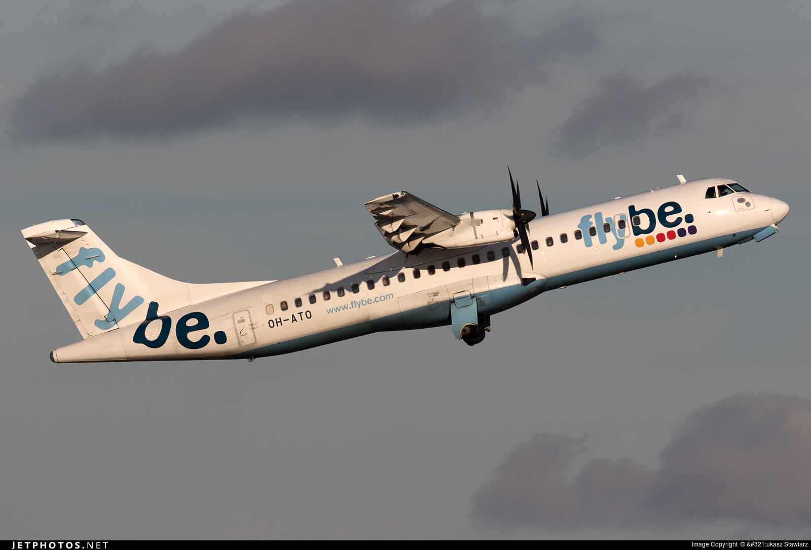 OH-ATO - ATR 72-212A(500) - Flybe Nordic