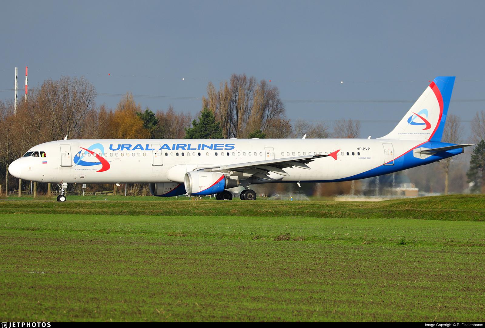 VP-BVP - Airbus A321-211 - Ural Airlines