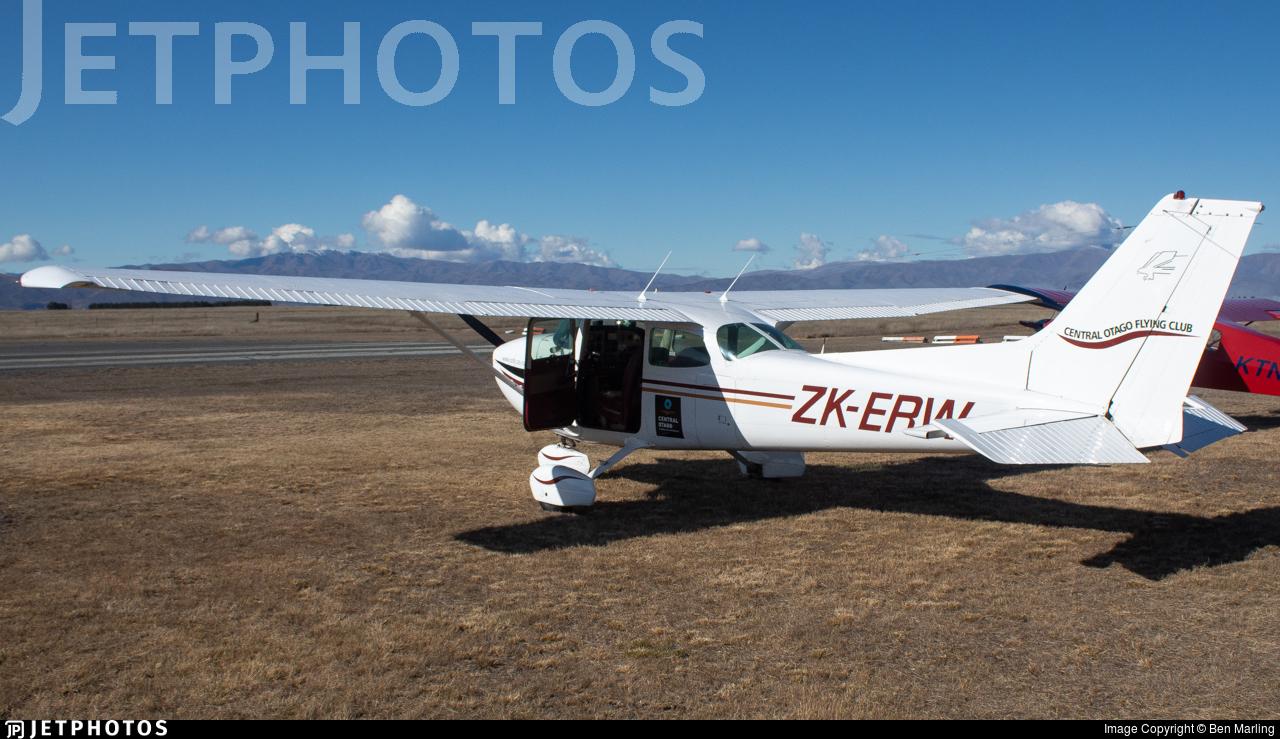 ZK-ERW - Cessna 172N Skyhawk - Central Otago Flying Club