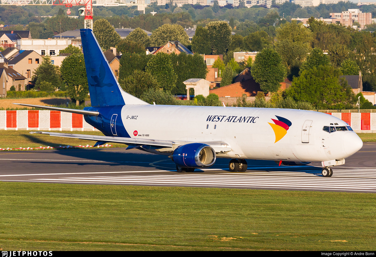 G-JMCZ - Boeing 737-4K5(SF) - West Atlantic Airlines