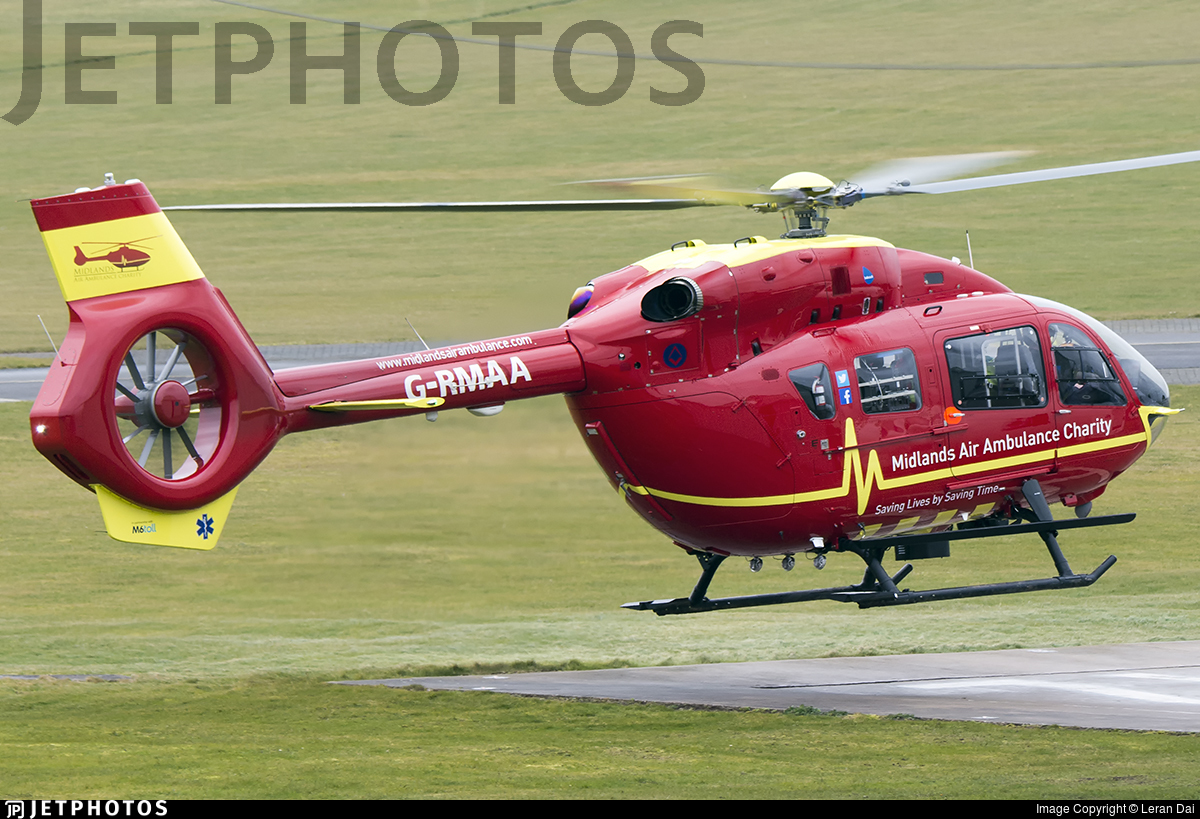 G-RMAA - Airbus Helicopters H145 - Babcock Mission Critical Services Onshore