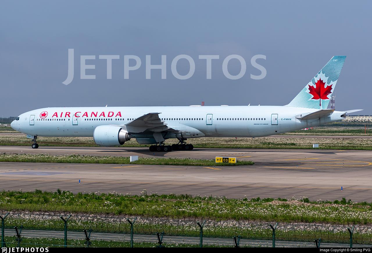 C-FNNW - Boeing 777-333ER - Air Canada