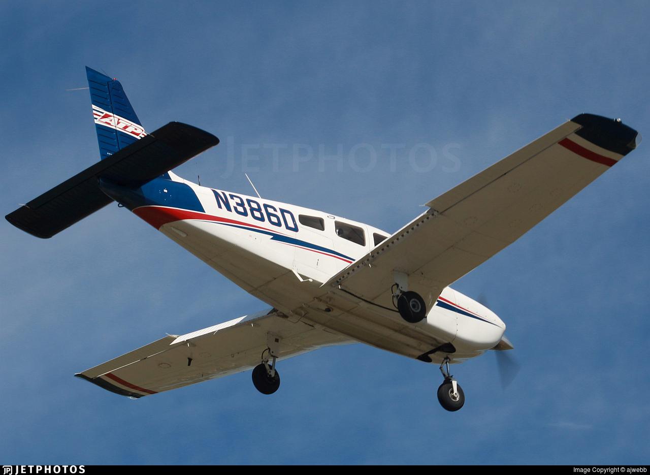 N386D - Piper PA-28-181 Archer TX - ATP Flight School