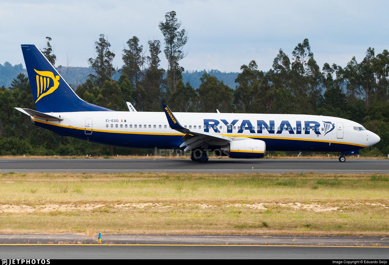 EI-EGD - Boeing 737-8AS - Ryanair