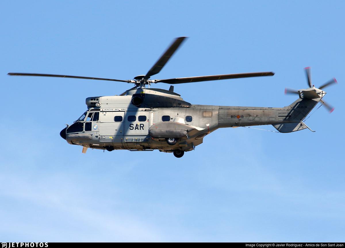 HD.21-19 - Aérospatiale AS 332B Super Puma - Spain - Air Force