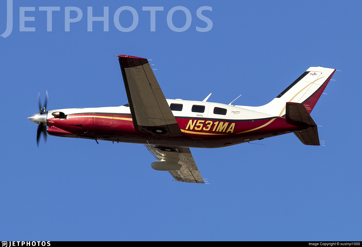 N531MA - Piper PA-46-350P Malibu Mirage - Private