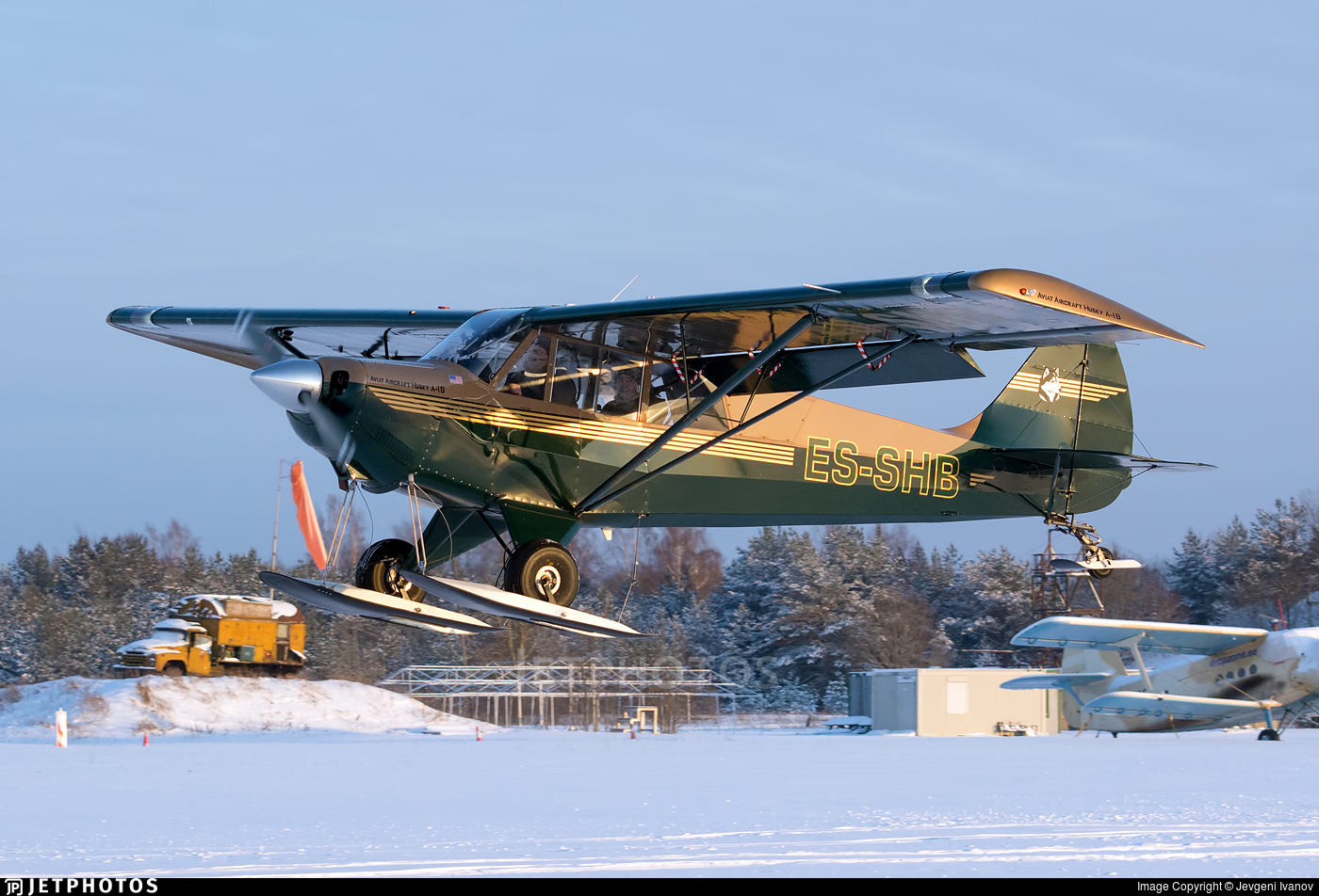 ES-SHB - Aviat A-1B Husky - Private