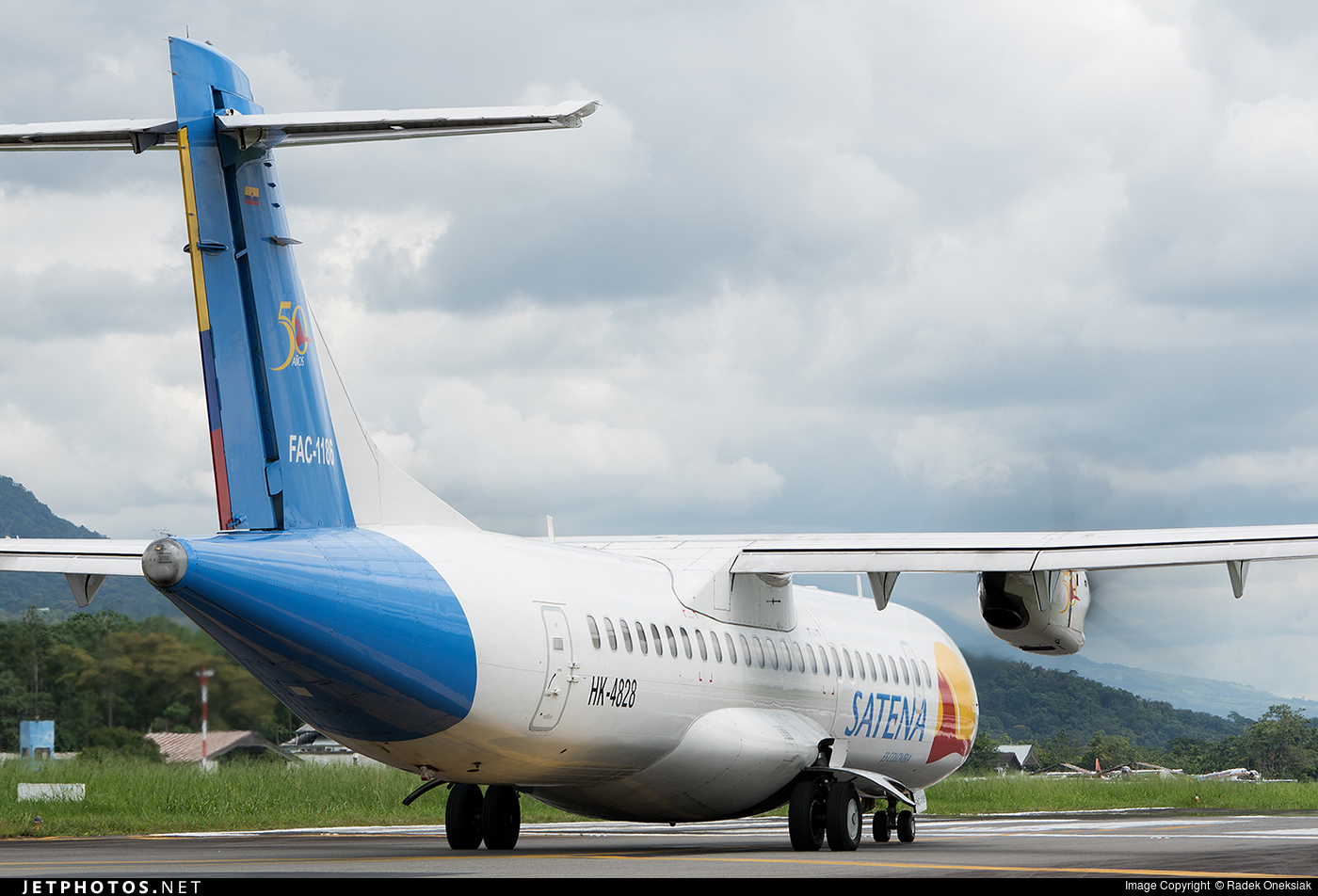 HK-4828 - ATR 72-212A(500) - Satena