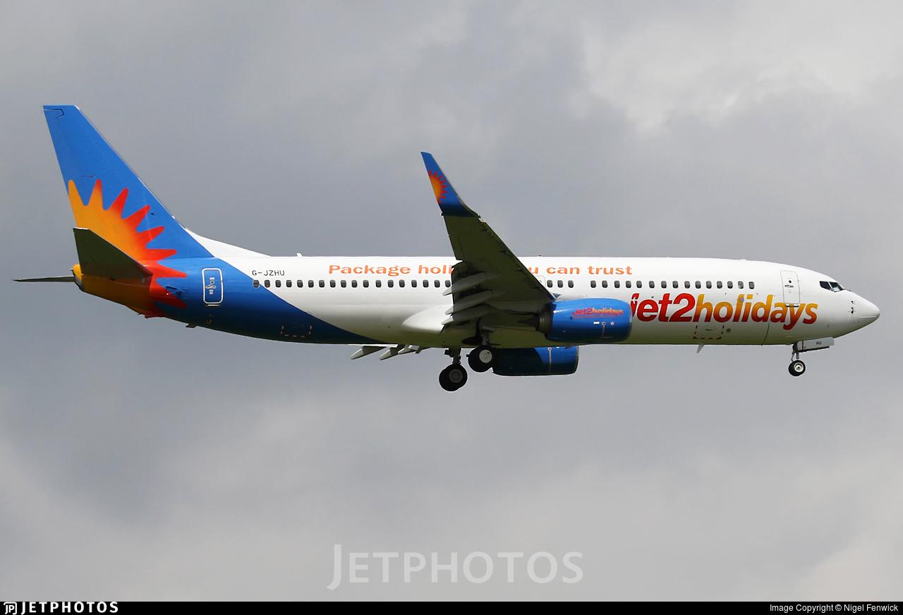 G-JZHU - Boeing 737-8MG - Jet2.com