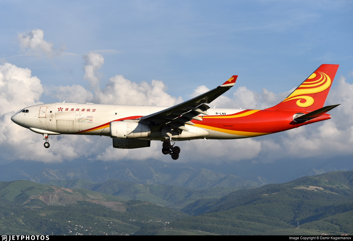 B-LNV - Airbus A330-243F - Hong Kong Airlines Cargo