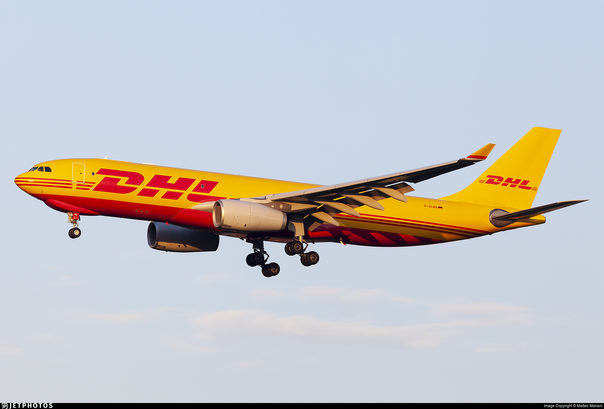 D-ALMA - Airbus A330-243F - DHL (European Air Transport)