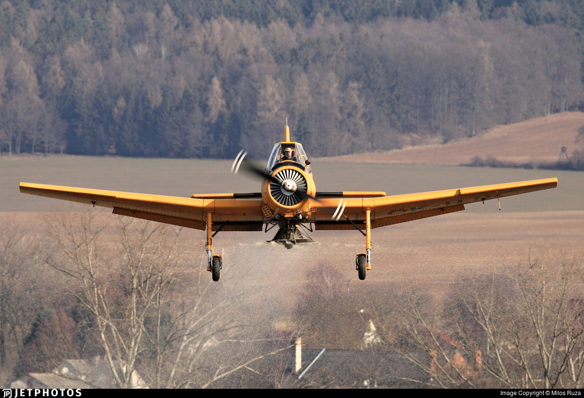 OK-HJK - Let Z-37 Cmelák - Private