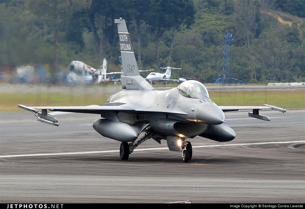 93-0547 - Lockheed Martin F-16C Fighting Falcon - United States - US Air Force (USAF)