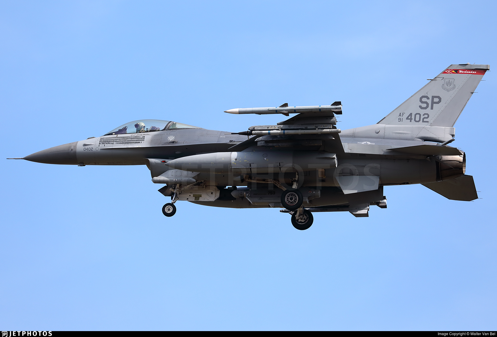 91-0402 - General Dynamics F-16CM Fighting Falcon - United States - US Air Force (USAF)