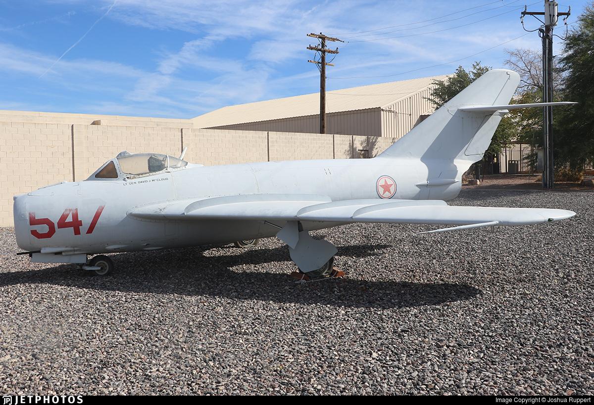 547 - Mikoyan-Gurevich MiG-17 Fresco - North Korea - Air Force