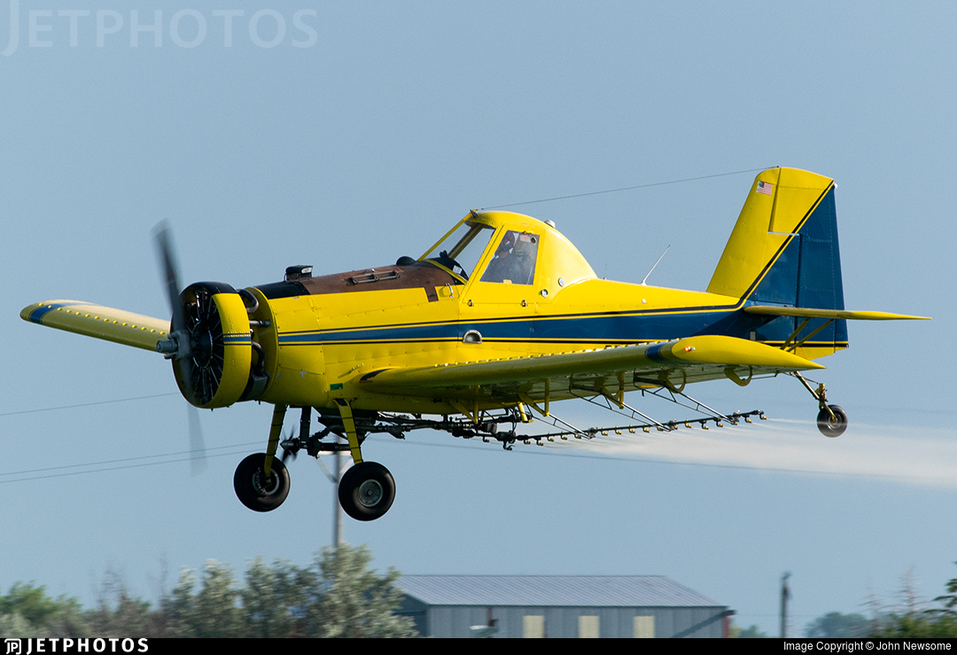 N1008Y - Air Tractor AT-401 - Private