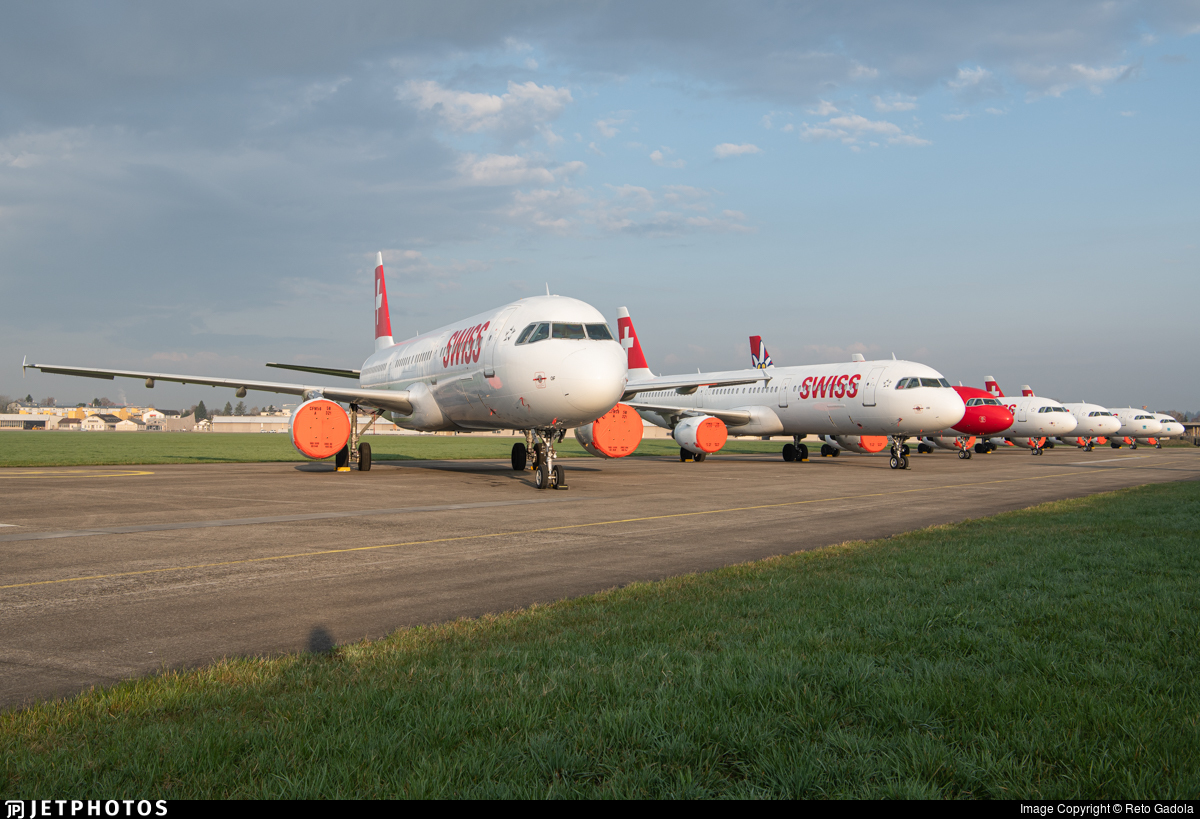 HB-IOF - Airbus A321-111 - Swiss
