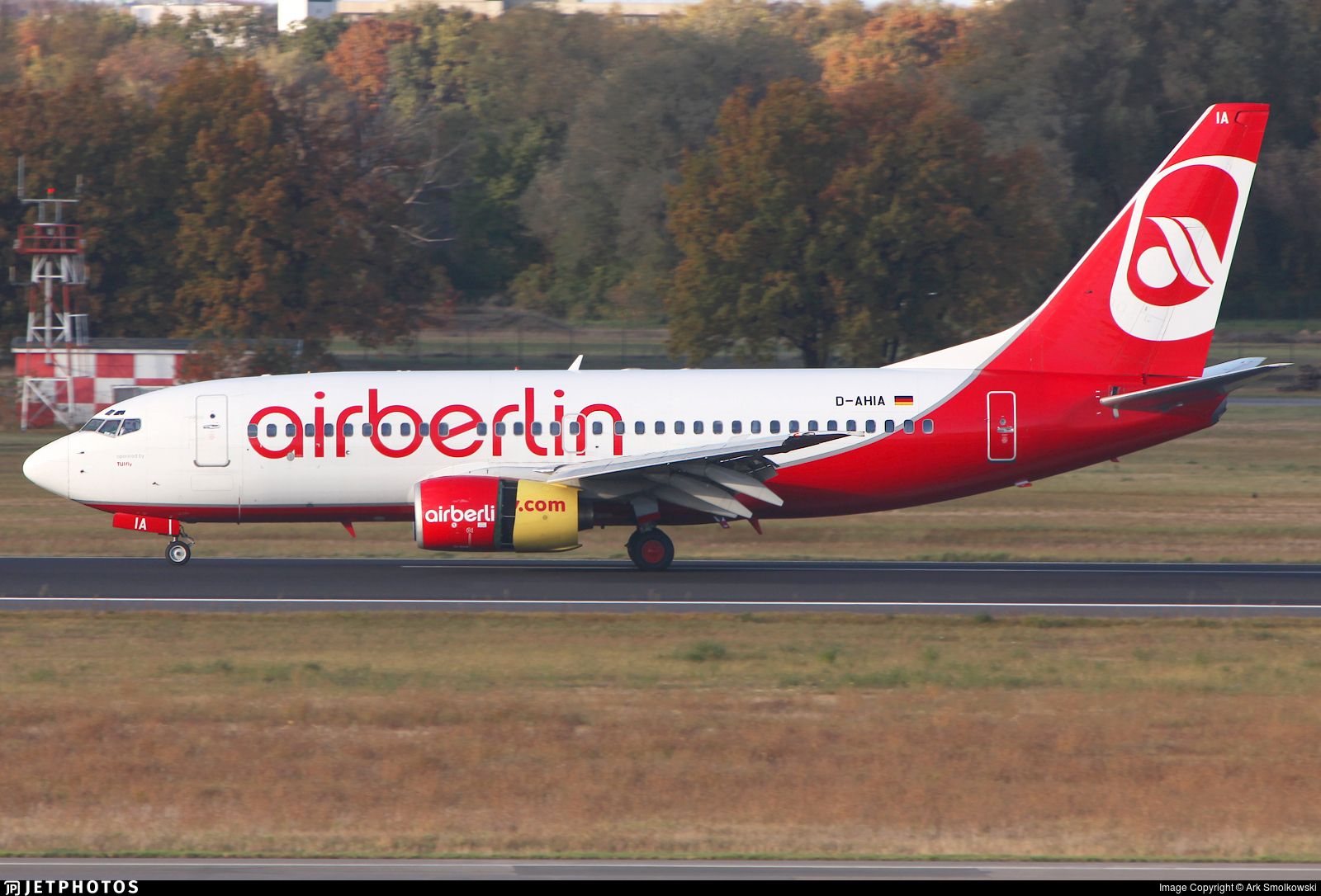 D-AHIA - Boeing 737-73S - Air Berlin (TUIfly)