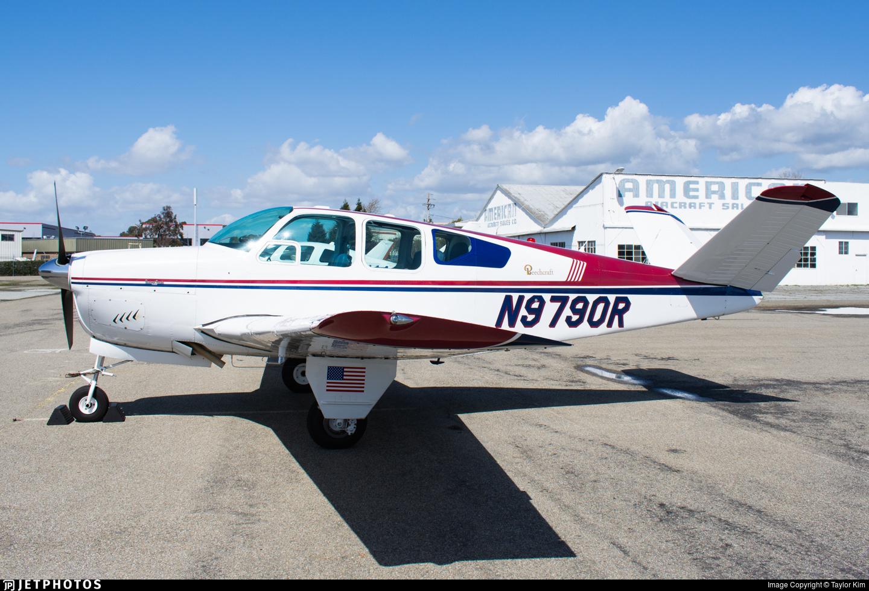 N9790R - Beechcraft M35 Bonanza - Private