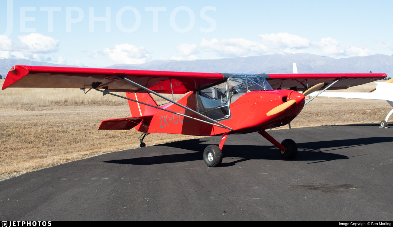 ZK-CCE - Rans S-6 Coyote II - Private