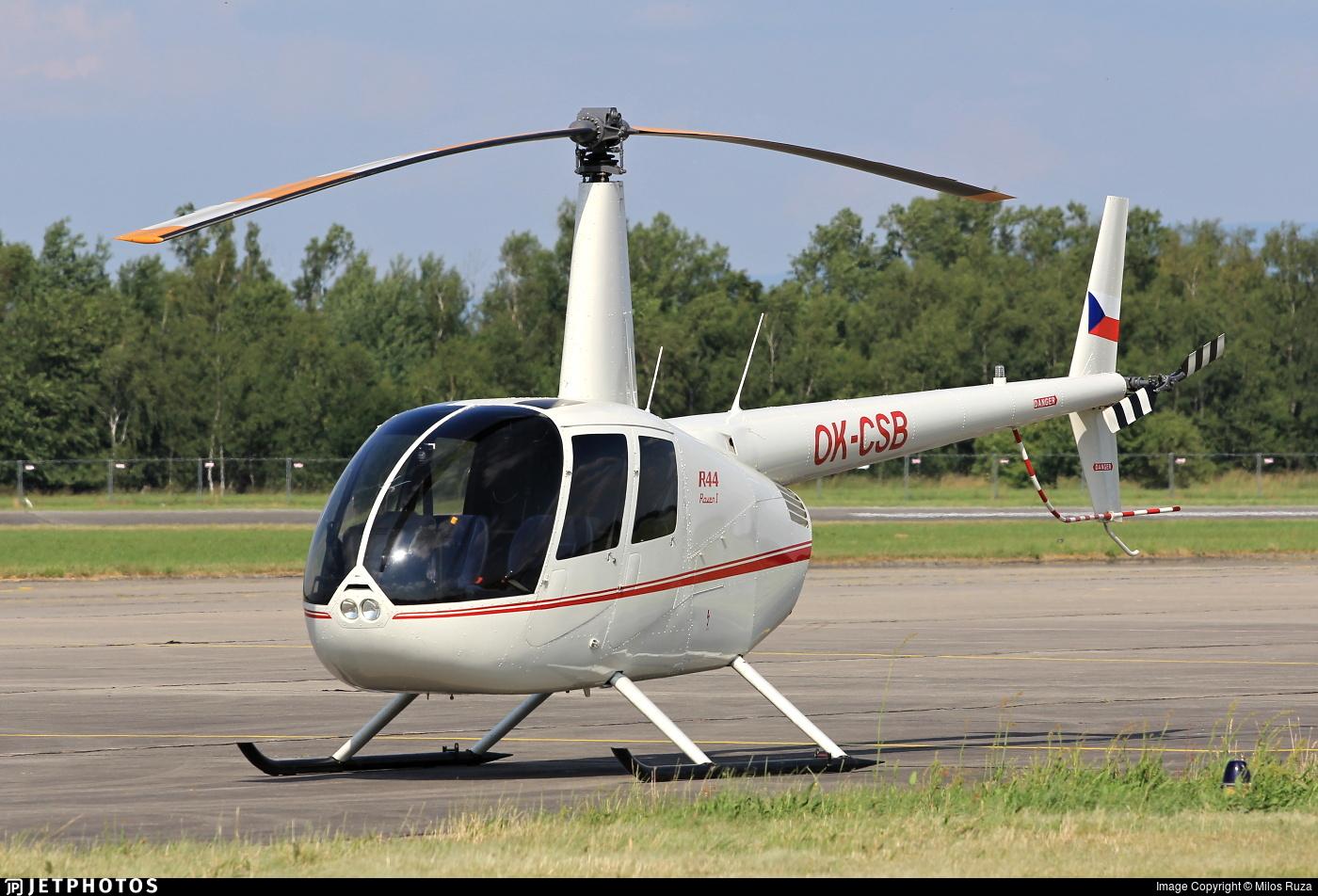 OK-CSB - Robinson R44 Raven - Private
