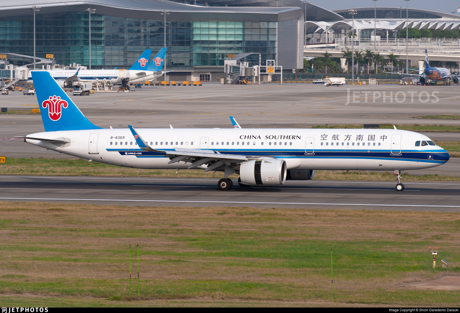 B-8369 - Airbus A321-271N - China Southern Airlines