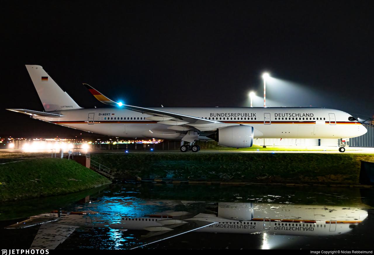 D-AGVT - Airbus A350-941CJ - Germany - Air Force