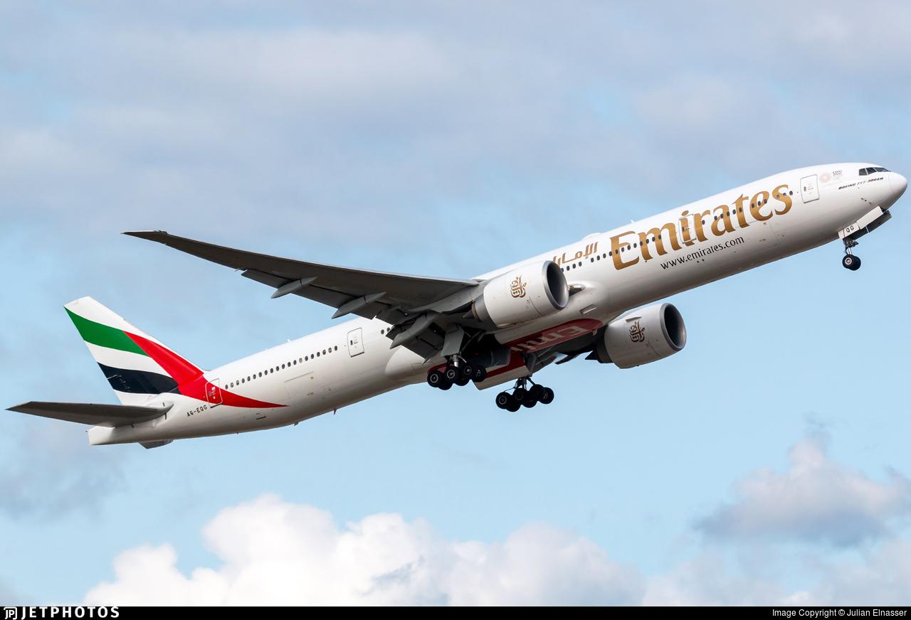 A6-EQG - Boeing 777-31HER - Emirates