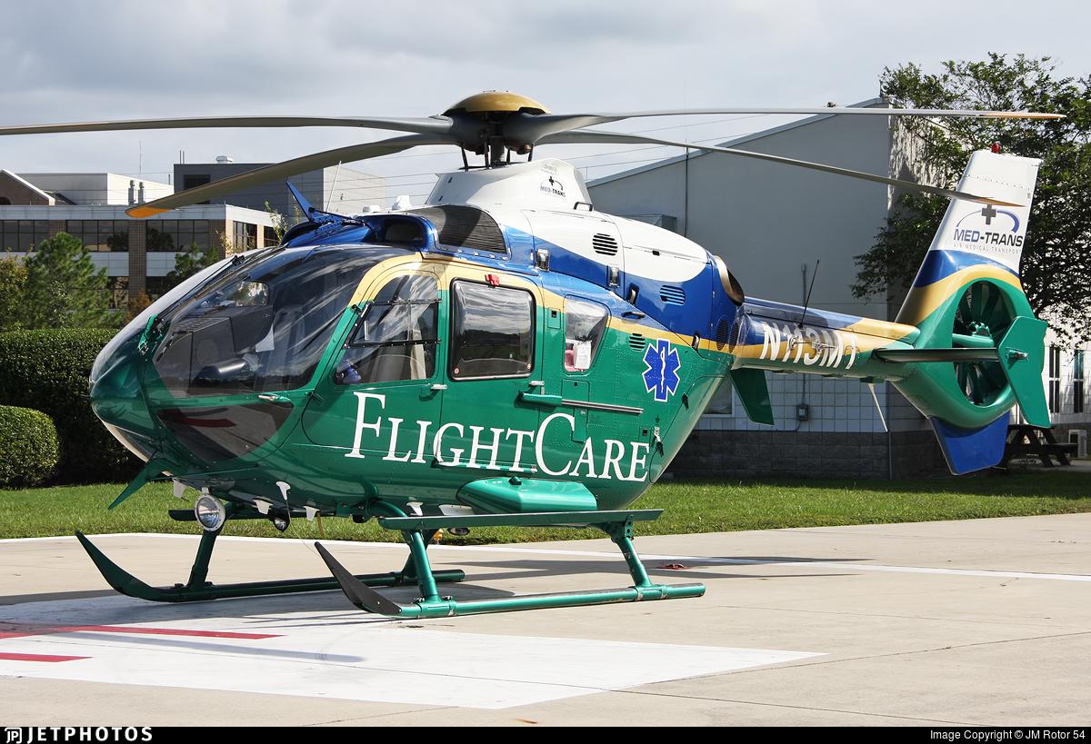 N113MT - Eurocopter EC 135P2+ - Med Trans