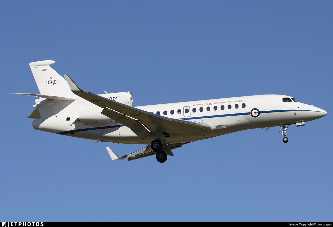 A56-001 - Dassault Falcon 7X - Australia - Royal Australian Air Force (RAAF)