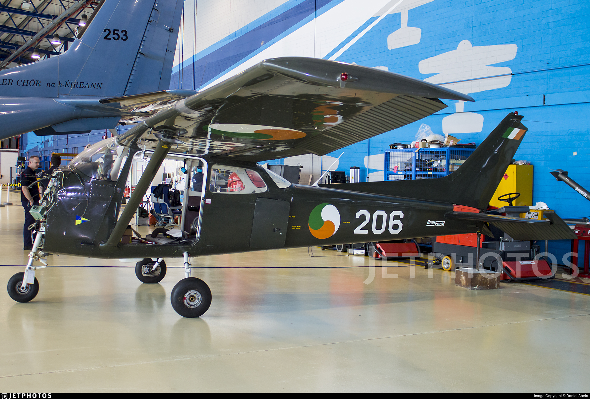 206 - Reims-Cessna FR172H Reims Rocket - Ireland - Air Corps
