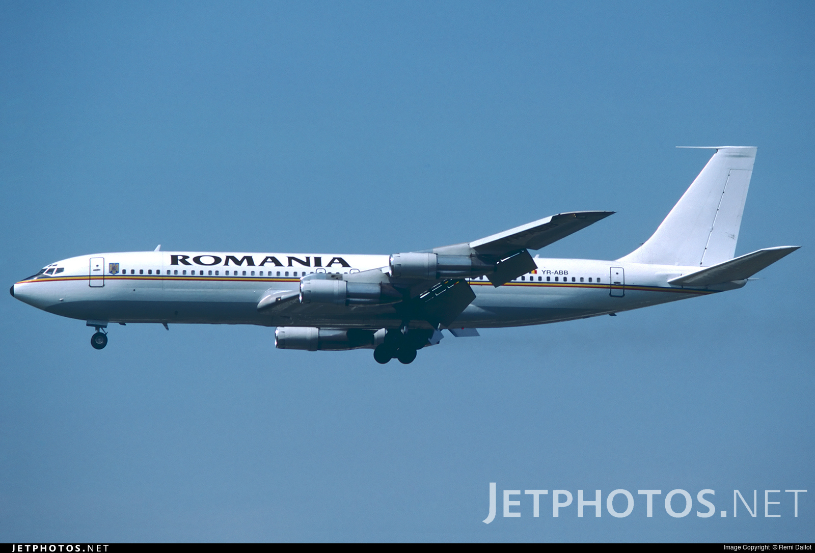 YR-ABB - Boeing 707-3K1C - Romania - Government