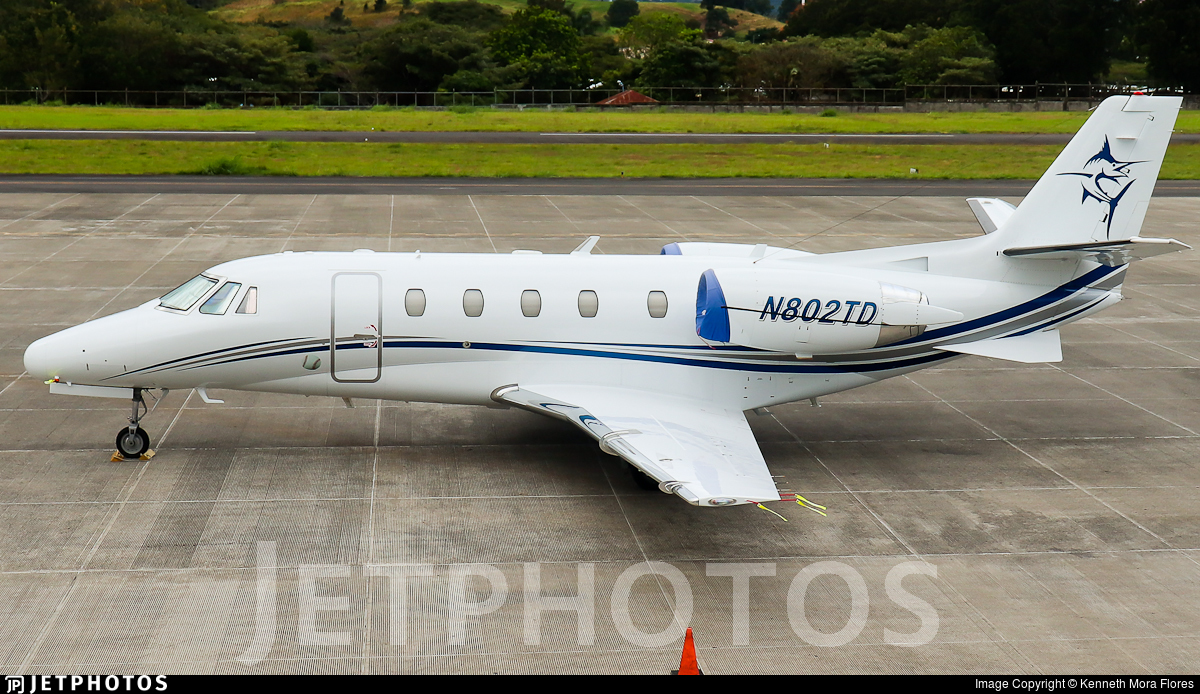 N802TD - Cessna 560XL Citation Excel - Private