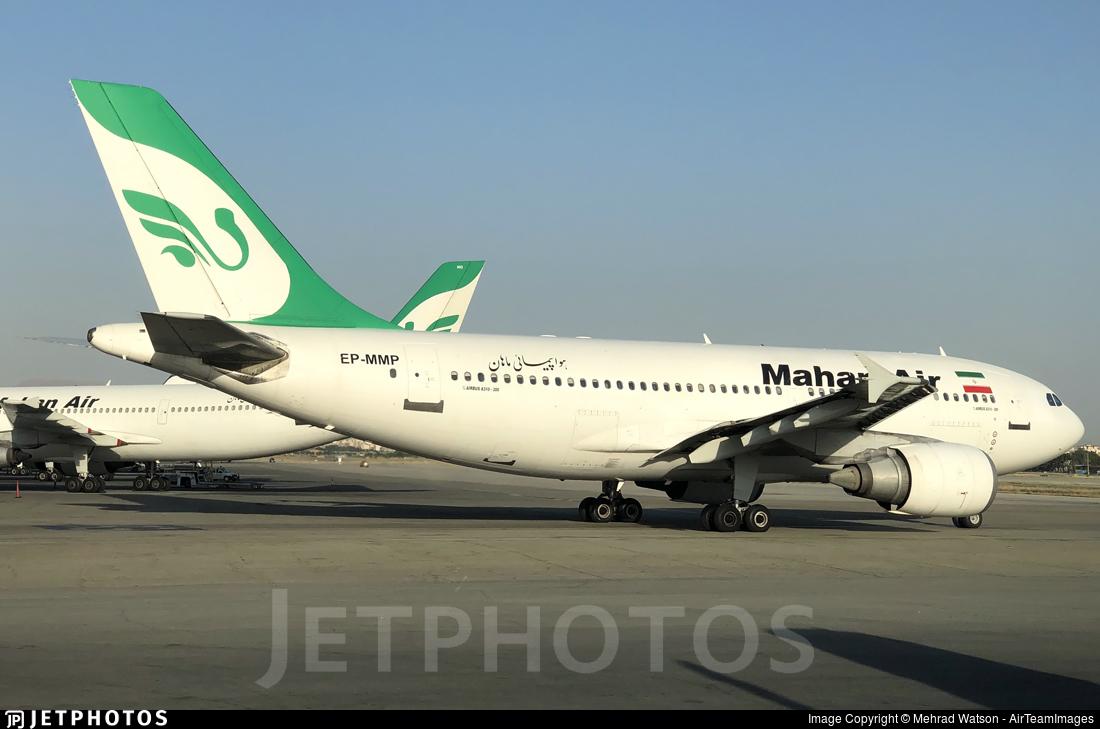 EP-MMP - Airbus A310-304 - Mahan Air