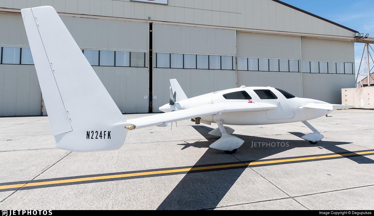 N224FK - Velocity SE-FG - Private